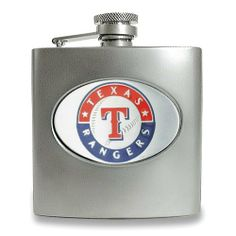 Texas Rangers Stainless Steel Hip Flask Jewelry Adviser Gifts. $50.00
