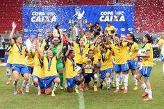 Brasil conquista por quinta vez torneo internacional de fútbol femenino - Yahoo Deportes