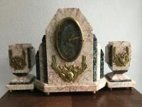 Art Deco hodiny Bookends, Art Deco, Home Decor, Homemade Home Decor, Interior Design, Home Interiors, Decoration Home, Home Decoration, Art Decor