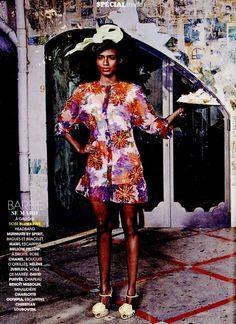 In Bloom - Blumarine Spring Summer 2015 • Madame Figaro Pocket, France - March 2015