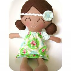 'Ginger' ~ Little Sunshine Doll by Cuckoo For Coco