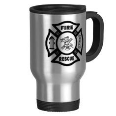 Fire Rescue Firefighter Mugs Personalized