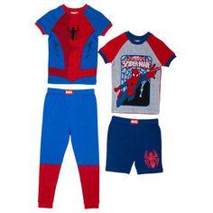 Spiderman-Boys-2-piece-Pajama-Set-2-pack-Blue