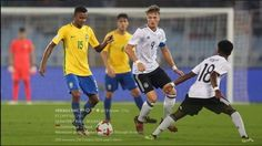 FIFA U 17 World Cup 2017 quarter final, Germany vs Brazil......