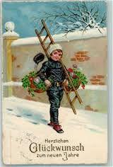 Bildergebnis für alte postkarten schornsteinfeger