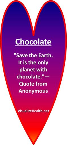 """Chocolate  """"Save the Earth. It is the only planet with chocolate.""""— Quote from Anonymous    Donate to Sustainability Kim's donation page http://www.hazon.kintera.org/2013usa/kimberlyburnham    Pinterest Hazon http://pinterest.com/KimberlyBurnham/bicycling-for-change-hazon-biking/    Blogs Bicycling for Food http://astoriedcareer.com/qa-participant-burnham-is-back-with-book-of-stories-about-bicycling-for-food    Wiser Earth http://www.wiser.org/user/KimBurnham    Cross USA Route"""