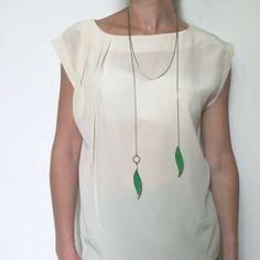 Necklace by Marine de Diesbach