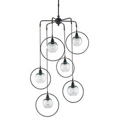 Moorsgate Multi Light Pendant by Currey and Company at Lumens.com