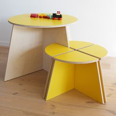 P Kolino Table And Chairs circle with stools...this is only 3995 kr or USD$602. In my dreams ...