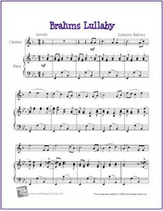 photograph relating to Free Printable Clarinet Sheet Music named 35 Great Clarinet Sheet Tunes (No cost) pictures inside of 2018 Totally free