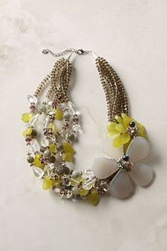 Okay, the price is a little crazy for me, but I love the asymmetrical design of this necklace. I see it making the classic white-blouse-and-jeans into a statement outfit.