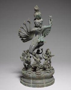 Hevajra, c. 1200 (Cleveland Museum of Art) Cambodia, Bayon Style, late century bronze, Overall - cm inches). Buddha Painting, Buddha Art, Buddha Sculpture, Stone Sculpture, Shiva Art, Hindu Art, Tibetan Art, Cleveland Museum Of Art, Classical Art