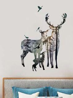 Search deer | SHEIN USA Deer Decor, Moose Art, Usa, Search, Animals, Animales, Animaux, Searching, Animal