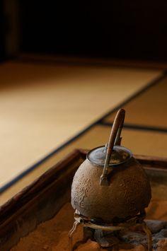 Japanese iron kettle