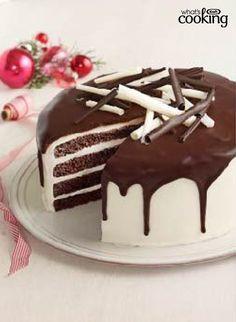 Tuxedo Cake #recipe