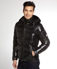 D Cool Jackets, Winter Jackets, Pvc Raincoat, Black Quilt, Hooded Jacket, Overalls, Leather Jacket, Mens Fashion, Happy Boy