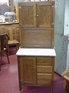 Kitchen Hoosiers for Sale | ... apartment size cabinet all of the cabinets on this page are for sale