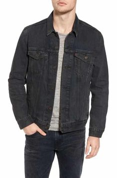 Coated Jacket 20jeans Men's In Notorious} Denim Badass Black qznRfT