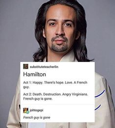 French guy is gone because someone *glares at Alex* didn't fight for French independence << As a person who is French, I declare war on Hamilton for this Alexander Hamilton, Hamilton Act 1, Hamilton Fanart, Hamilton Broadway, Hamilton Musical, Hamilton Lin Manuel Miranda, Fandoms, Dear Evan Hansen, Oui Oui