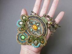 Jewelry, handmade, polymer clay, beads, ethnic, ethnic jewelry, pendant, jewelry set