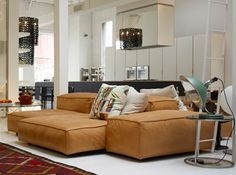 Living Room | Sectional | Living Space [Living Divani Extrasoft Sectional]