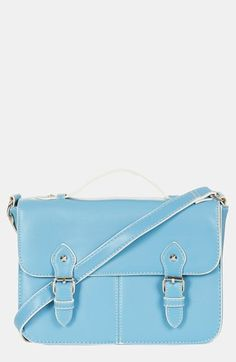 sky blue satchel