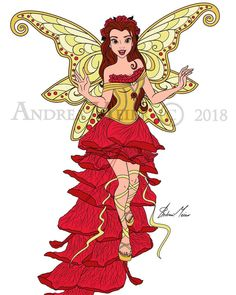 """❤️""""Art Nouveau"""" Series so far❤️ by Andrea Meier This super detailed, awesome and lovely collection is commissioned by Disney Princess Fashion, Disney Princess Belle, Disney Princess Pictures, Disney Princess Dresses, Disney Pictures, Princess Pocahontas, Sailor Princess, Disney Artwork, Disney Fan Art"""