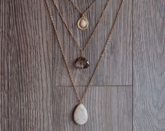 Hey, I found this really awesome Etsy listing at https://www.etsy.com/listing/270671578/stone-layered-necklace-crystal-layered