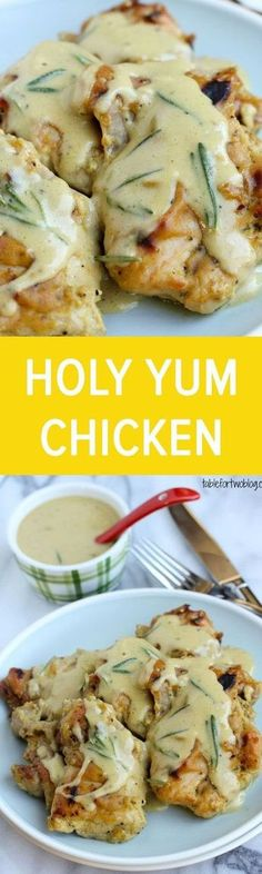 Holy Yum Chicken Recipe: boneless skinless chicken thighs, Dijon mustard, maple syrup, rice wine vinegar, salt, pepper, cornstarch and fresh rosemary. ⓒⓗⓘⓒⓚⓔⓝ PERXFOOD.COM