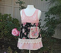 Upcycled Women's Clothing  Shabby Chic by AmadiSloanDesigns, $57.00