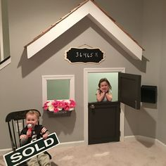 Kids playhouse under basement stairs gossford house дом, нео Under Basement Stairs, Under Stairs Playhouse, Kids Basement, Indoor Playhouse, Kid Playhouse, Playhouse Ideas, Basement Ideas, Dutch Door, Toy Rooms