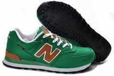 Joes New Balance 574 WL574BPG Retro Green Brown Backpack Womens Shoes