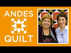 Two of our favorite quilters come together for this gorgeous quilt! – Crafty House