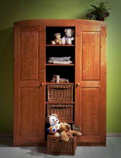 Wardrobe Solid Pine, Tall Cabinet Storage, Furniture, Home Decor, Decoration Home, Room Decor, Home Furnishings, Home Interior Design, Home Decoration