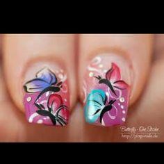 More cool nail art