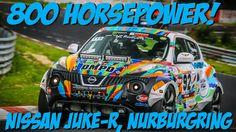 Bunt & schnell: Nissan Juke R auf der Nordschleife