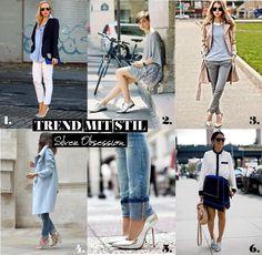 mitStil.net das Online Lifestylemagazin_Mode Must Have_Silver Obsession_Raster_Gesamt Star Wars, Trends, Must Haves, Silver, Fashion, Cat Walk, Moda, Fashion Styles, Starwars