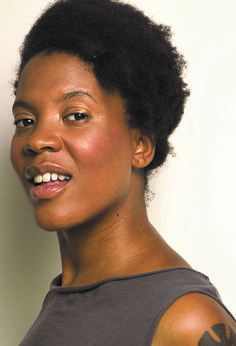 Xaviera Simmons (b 1974) is an American contemporary artist. Her body of work spans photography, performance, video, sound, sculpture, and installation. Simmons received her BFA from Bard College in 2004. Her work has been exhibited at international institutions including Museum of Modern Art (New York), MoMA PS1 (Long Island City, New York), and the Museum of Contemporary Art, Chicago. Simmons has also studied aspects of midwifery and herbalism.