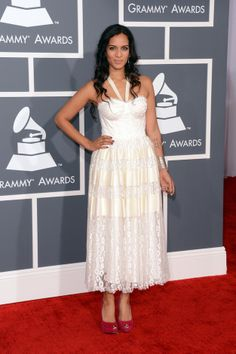 Anoushka Shankar at the 2013 Grammy's