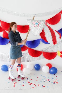 Firecracker Piñata DIY | Oh Happy Day! | Bloglovin'