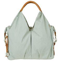 Buy Laessig Neckline Changing Bag, Sky Blue Online at johnlewis.com