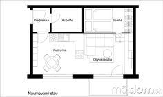 Ako sme v jednoizbovom byte vytvorili priestor