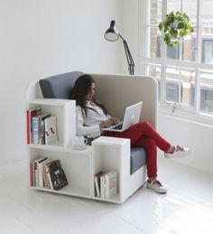 【ロンドン発】3辺95cmの想像力♡立方体の読書スペース「OpenBook」が素敵すぎる!