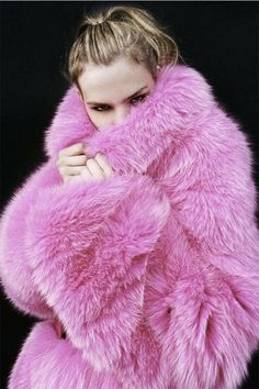 Winter Style Inspiration : The Prettiest Faux Fur