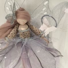 Perching Fairy Doll - The Butterfly Dust Collector