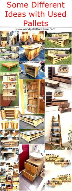 Those who are well aware of the use of the used pallets get the benefit from them and they end up making their home look adorable. So, here we are with some creative and different ideas with shipping pallets; which are easy to copy and don't need money to invest for creating innovative items.