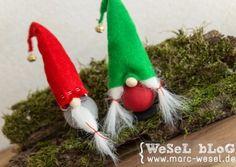 weihnachtswichtel basteln - diy weihnachtsdeko | deko, basteln and, Innenarchitektur ideen