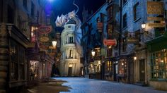 5. The Wizarding World of Harry Potter in Orlando, Florida is a must-see for Harry Potter fans. Check out these 10 other bookish places to visit!