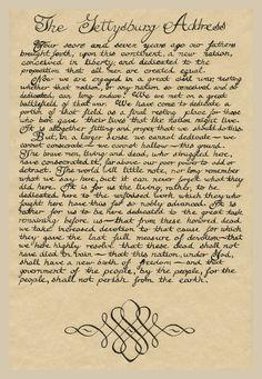 Abraham Lincoln Gettysburg Address | Abraham Lincoln reading the Gettysburg…