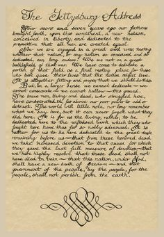 Abraham Lincoln Gettysburg Address | Abraham Lincoln reading the Gettysburg…